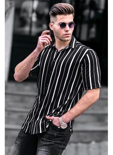Madmext   Erkek Gömlek 4935 Siyah